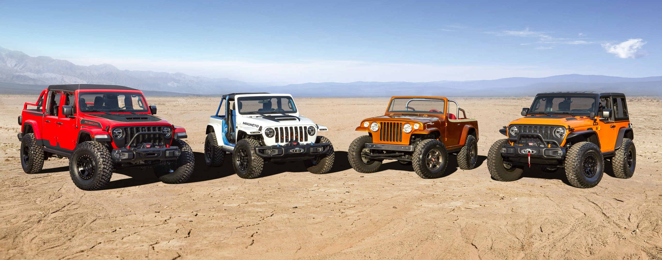 Jeep taunts us with 2021 Easter Jeep Safari concepts