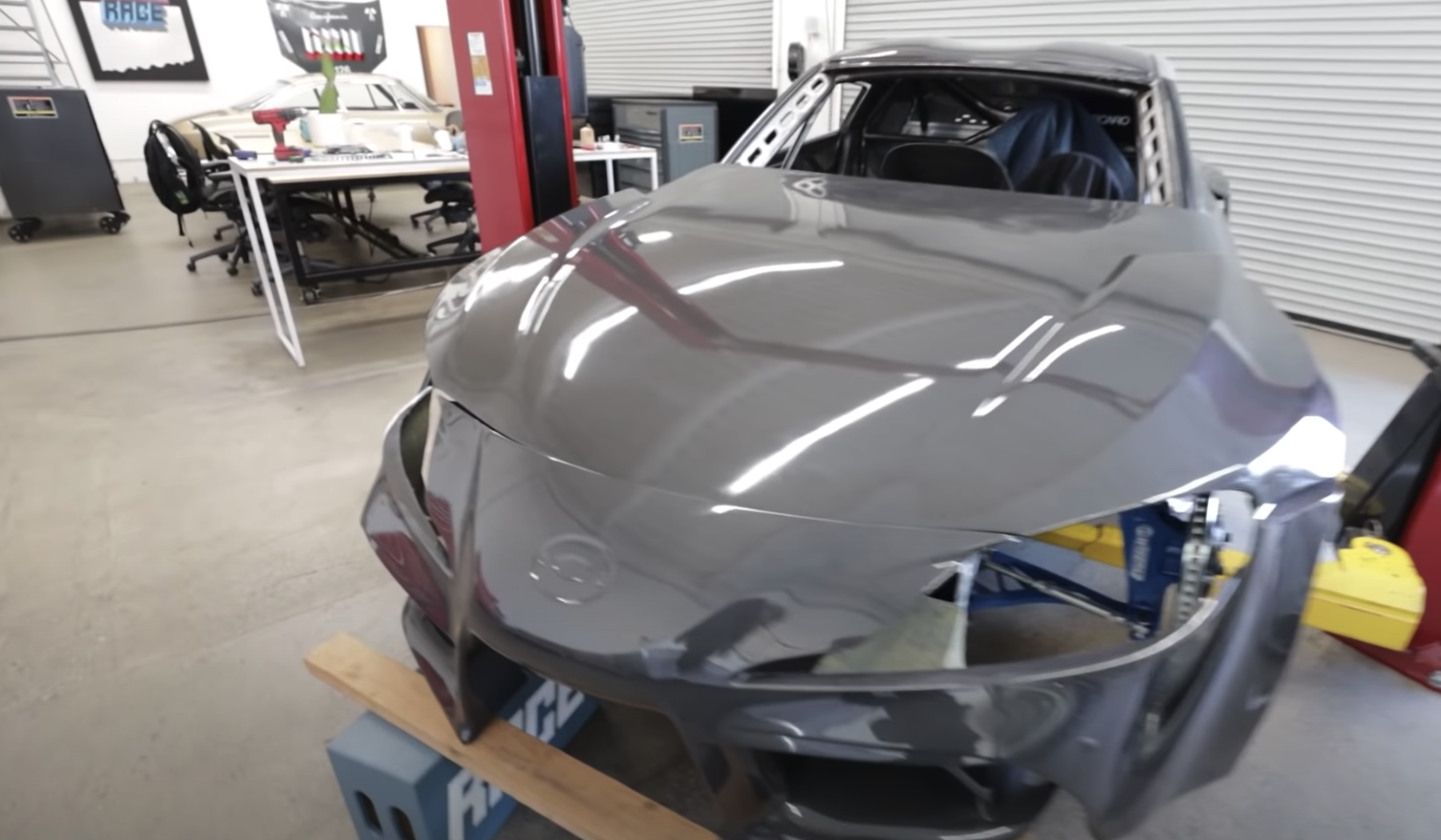 carbon fiber body for formula supra
