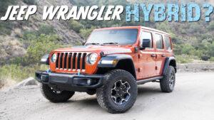 Jeep Wrangler Rubicon 4xe: An enticing electrified off-roader!